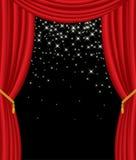 scen gwiazdy Zdjęcie Royalty Free