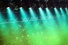 Scen światła Fotografia Stock