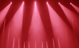 Scen światła Zdjęcia Royalty Free