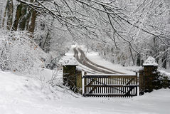 scena śnieżna Zdjęcie Royalty Free