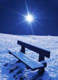 scena śnieg Zdjęcie Royalty Free