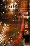 Scena aerea della via Fotografie Stock Libere da Diritti