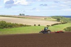 Scena agricola Fotografie Stock Libere da Diritti