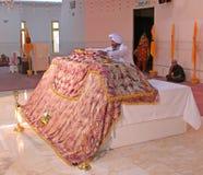 Scena alle nozze sikh Fotografie Stock Libere da Diritti