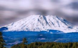 Scena alpina del Mt St Helens Fotografie Stock