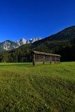 Scena alpina, Slovenia, Europa Immagini Stock Libere da Diritti