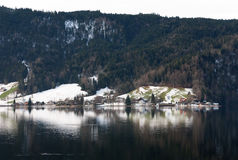 Scena alpina, Svizzera Fotografia Stock