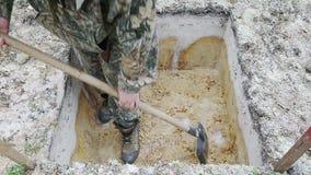 Scena archeologiczna praca zdjęcie wideo