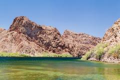 Scena buautiful dell'idromele del lago Fotografia Stock