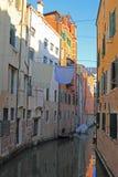 Scena calma del canale, Venezia, Italia fotografie stock