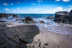 Scena caraibica della spiaggia Fotografia Stock