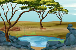 Stagno illustrazioni vettoriali e clipart stock 56 465 for Fenicottero decorativo giardino