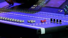 Scena dźwięka kontrola zbiory wideo
