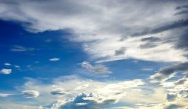 Scena del cielo Fotografia Stock Libera da Diritti