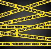Scena del crimine. Immagini Stock