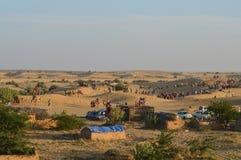 Scena del deserto Fotografia Stock