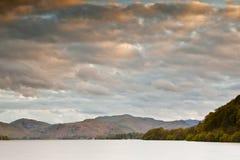Scena del distretto del lago Immagine Stock