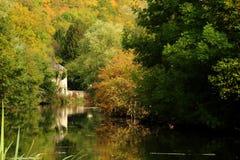 Scena del fiume Immagini Stock Libere da Diritti