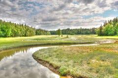 Scena del fiume Fotografia Stock