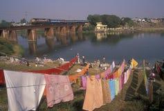 Scena del fiume immagini stock
