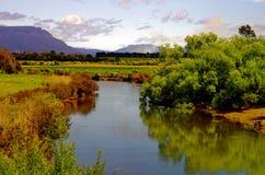 Scena del fiume Fotografie Stock Libere da Diritti