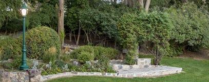 Scena del giardino Immagine Stock