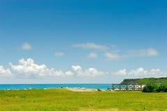 Scena del litorale Fotografia Stock