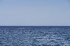 Scena del mare aperto Fotografie Stock Libere da Diritti