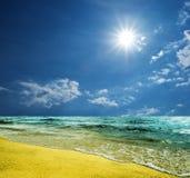Scena del mare di estate Immagine Stock Libera da Diritti