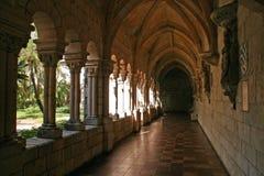 Scena del monastero Fotografie Stock Libere da Diritti