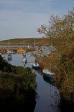 Scena del porto, baia di Cemeas, Anglesey Fotografia Stock