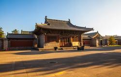 Scena del tempio di Fahua Fotografia Stock Libera da Diritti