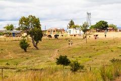 Scena del villaggio Immagine Stock