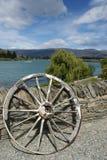 Scena dell'acqua in Nuova Zelanda Fotografia Stock