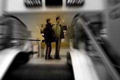 Scena dell'aeroporto Fotografia Stock Libera da Diritti