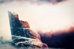Scena dell'alta montagna Fotografia Stock
