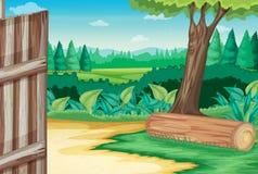 Scena dell'azienda agricola royalty illustrazione gratis