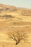 Scena dell'azienda agricola in inverno Fotografie Stock Libere da Diritti