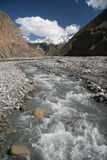 Scena dell'Himalaya Fotografie Stock Libere da Diritti