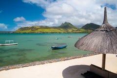 Scena dell'Isola Maurizio fotografia stock