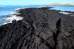 Scena dell'oceano di Galapagos Fotografia Stock Libera da Diritti