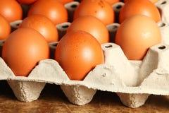 Scena dell'uovo del pollo Fotografie Stock Libere da Diritti