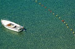 Scena della barca fotografie stock