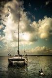 Scena della barca Fotografie Stock Libere da Diritti