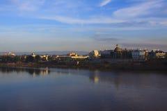 Scena della città del champasak del sud della provincia importante del Laos in Sud-est asiatico fotografia stock