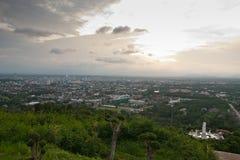 Scena della città di Hatyai Tailandia immagini stock libere da diritti