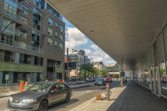Scena della città di Montreal Immagine Stock Libera da Diritti