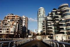 Scena della città di Vancouver Immagine Stock Libera da Diritti