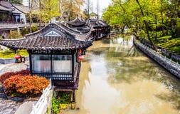 Scena della città di Yangzhou Fotografia Stock