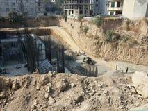 Scena della costruzione Immagine Stock Libera da Diritti